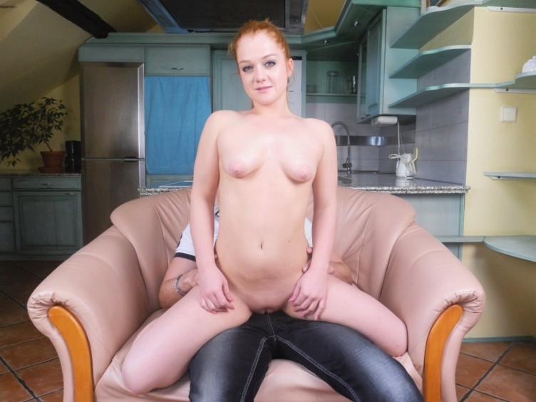 Naked man redhead blonde porn