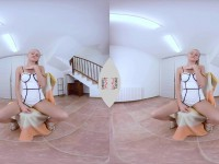 Ivana Sugar Solo Fun - Ukrainian Blonde VR Show VirtualTaboo vr porn video vrporn.com virtual reality