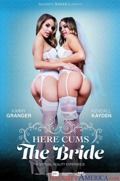 Here cums the bride xlx