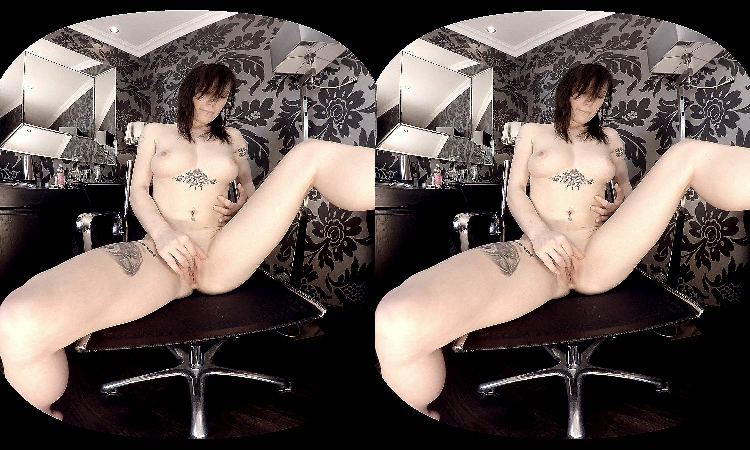 Shaved silk smooth pussy