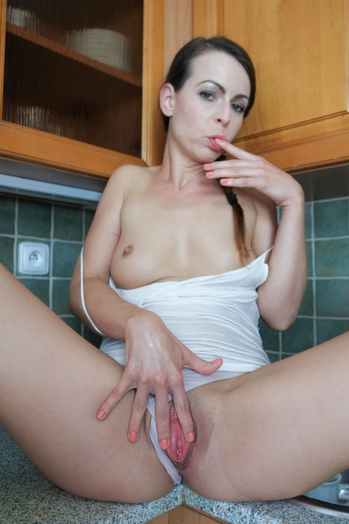 Deep virgin anal insertion