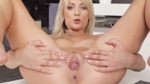Pussy For Breakfast - Katy Rose VR Masturbation VRBangers Katy Rose vr porn video vrporn.com virtual reality