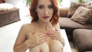 Lounge Perversions - Busty Redhead Isabella Lui RealityLovers Isabella Lui VR Porn video vrporn.com