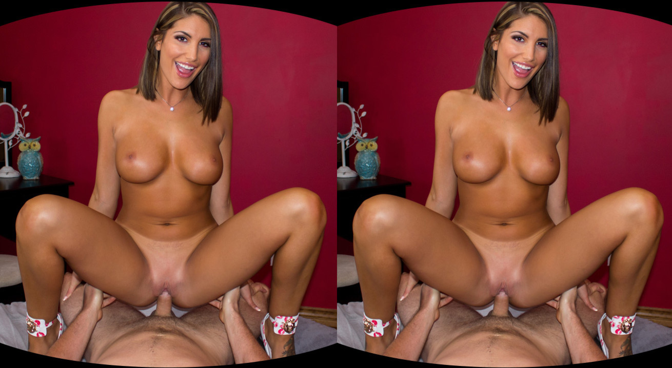 August ames - vr porn