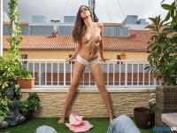 Sorority Slut - Spanish Babe Striptease and Fuck VR badoinkvr vr porn vrporn.com