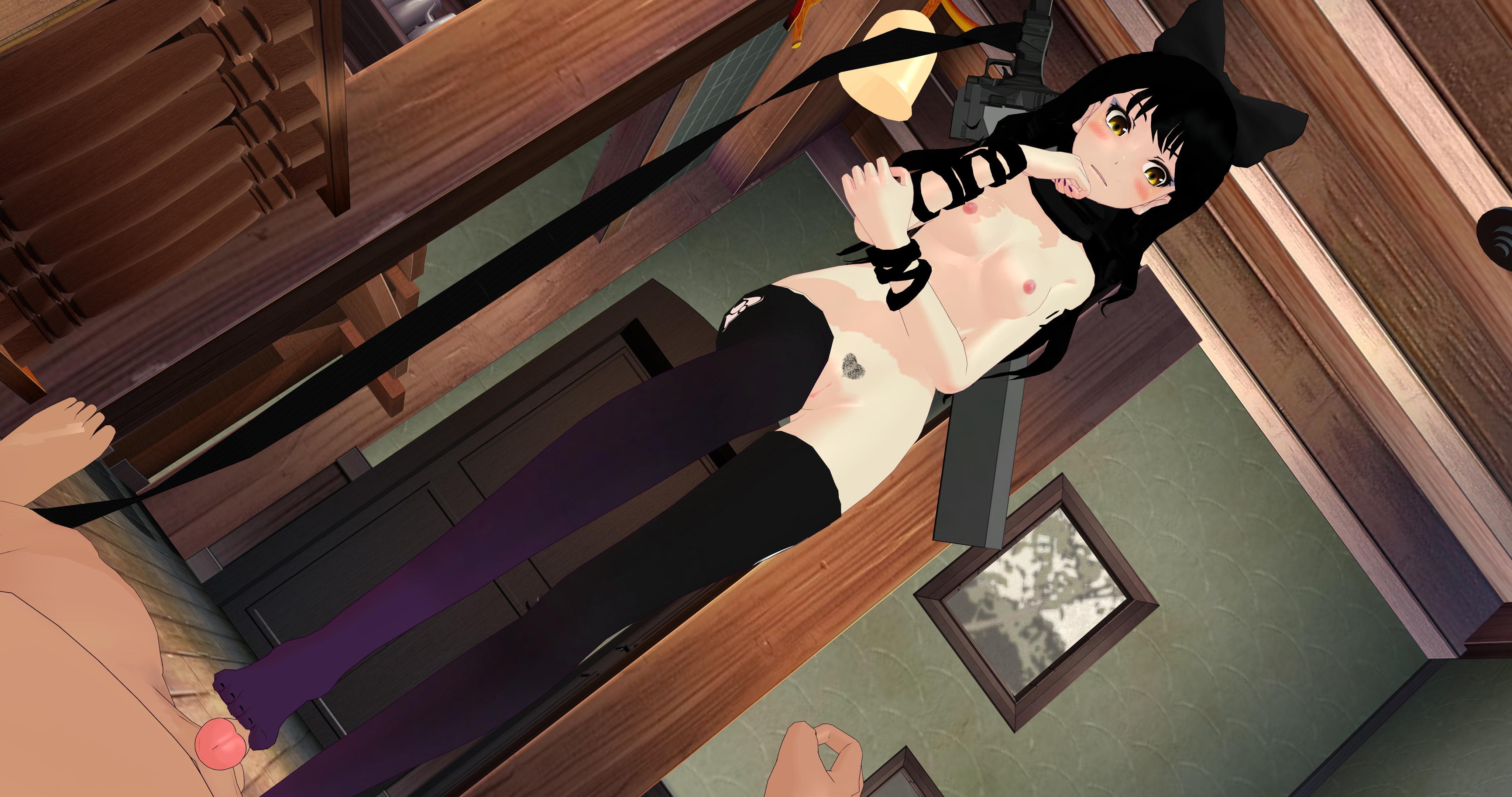 maga sex footjob - ... RWBY - Blake Footjob Lewd FRAGGY HentaiGirl VR porn video vrporn.com ...
