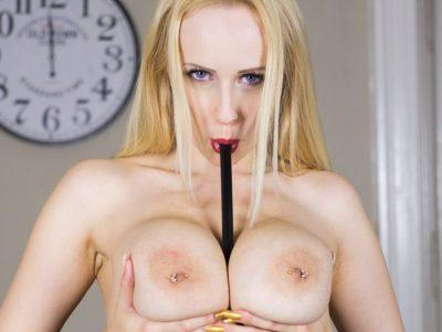 Angel Wicky Solo - Halloween Horny Babe Masturbation VR