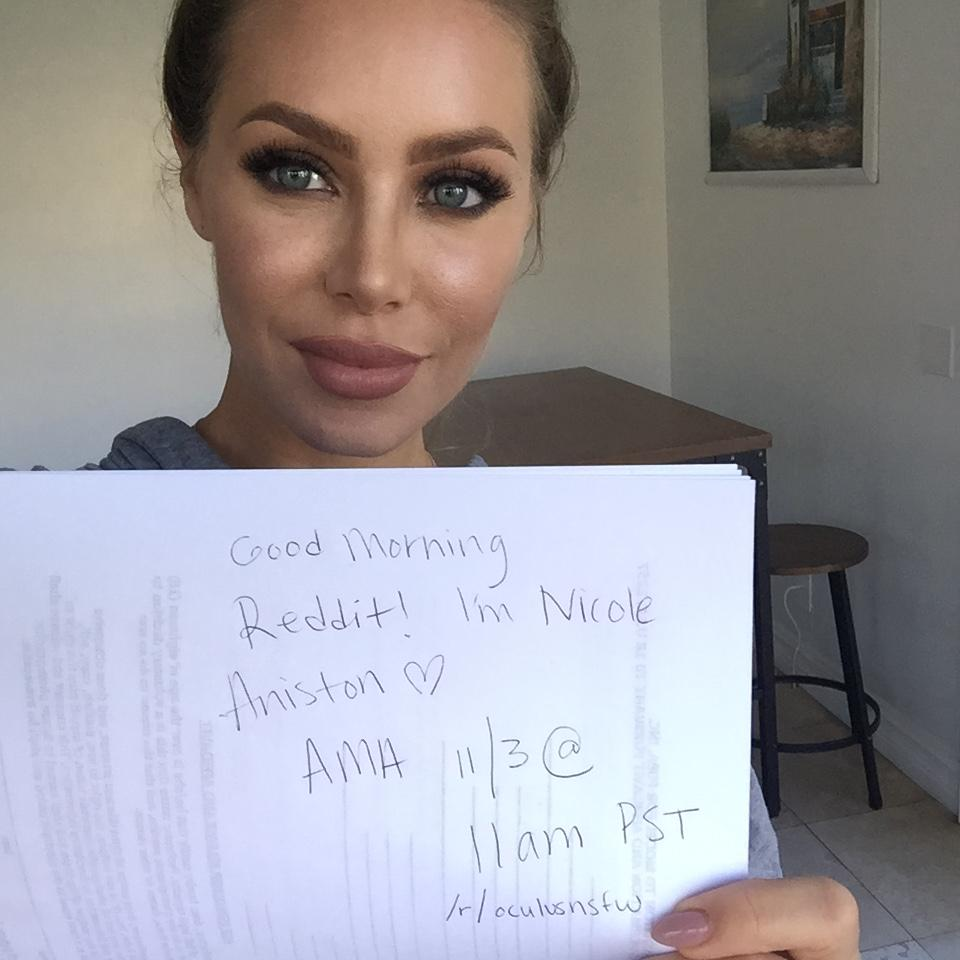 Naughty AmericaVR Nicole Aniston AMA, Viveland vr porn blog virtual reality