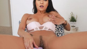 Caught Watching VRBangers Abby Lee Brazil vr porn video vrporn.com virtual reality
