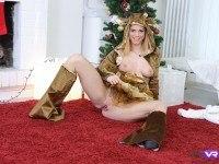 New Year's Striptease TmwVRnet Chrissy Fox vr porn video vrporn.com virtual reality