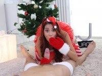 Merry Christmas RealJamvr Paula Shy vr porn video vrporn.com virtual reality