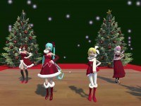 5 Days Of Christmas Thank You Scene Day 1 VRAnimeTed Hentaigirl vr porn game vrporn.com virtual reality