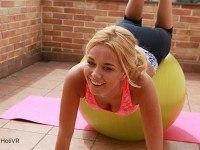 Pilates For Sex HoliVR Nicky Dream vr porn video vrporn.com virtual reality