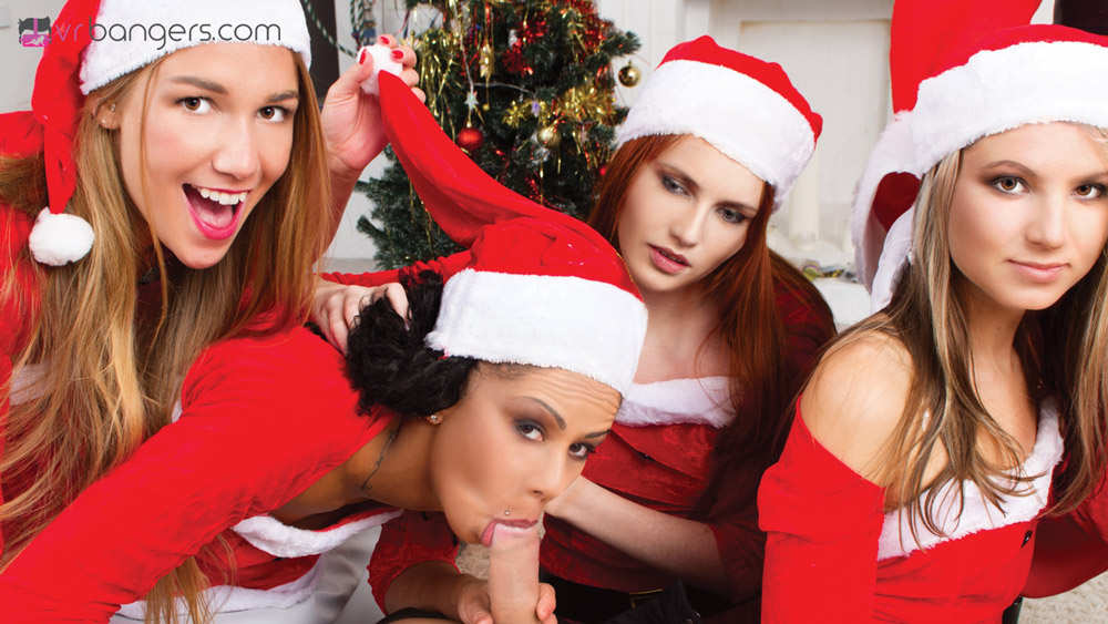 Mrs claus gangbanged by elves - 2 part 6