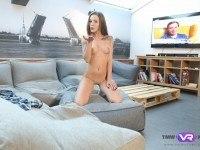 Tv Addict Rubs Pussy TmwVRnet Lita Phoenixvr porn video vrporn.com virtual reality