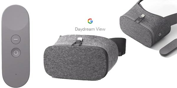 Google Selling Daydream View VR headset on Play Store for Just $49 techgiri.com vr porn blog virtual reality
