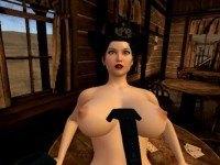 Rodeo Girl Boob Jiggling SinVR rodeo girl VR Porn game vrporn.com virtual reality