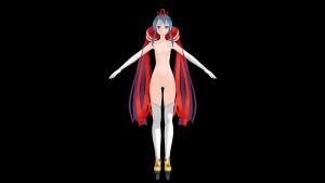 Model - Naruko Aoba [Magical Wars] Lewd FRAGGY Hentaigirl vr porn game vrporn.com virtual reality