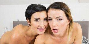 Samantha Joons & Gabrielle Gucci Hardcore vr porn video vrporn.com virtual reality