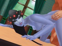 Overwatch - Widowmaker Table Doggy Lewd FRAGGY HentaiGirl vr porn video vrporn.com virtual reality