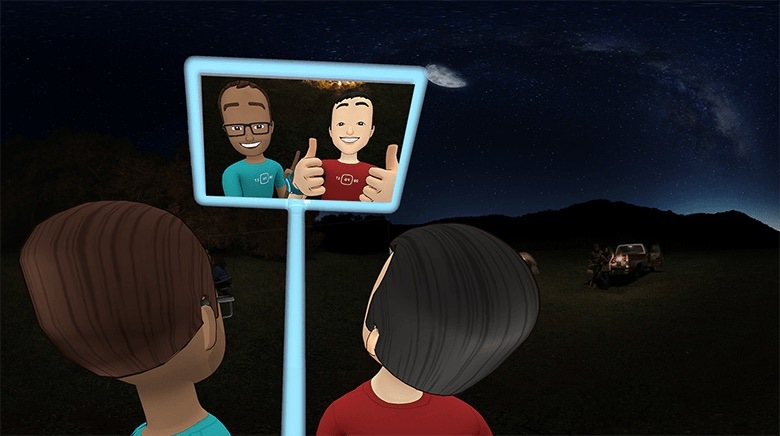 Meet Facebook Spaces - The New Way of Socialising in VR newsroom facebook vr blog virtual reality