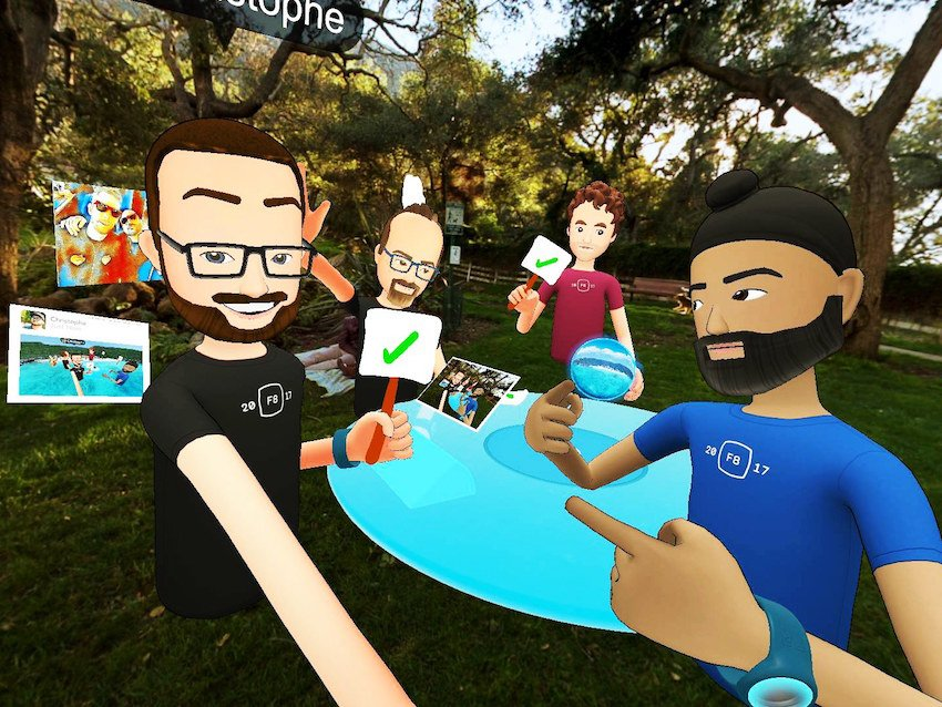 Meet Facebook Spaces - The New Way of Socialising in VR engadget vr blog virtual reality