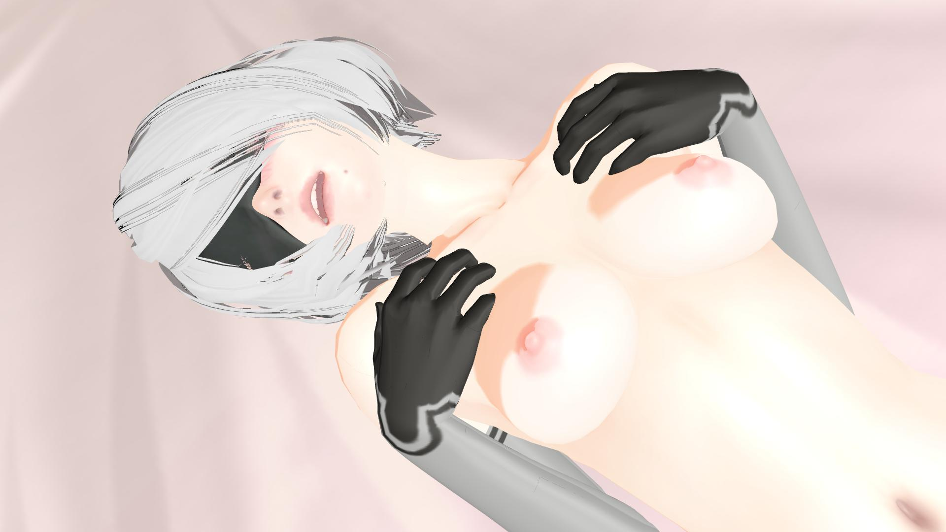 nier automata – 2b pleasure - vr porn video - vrporn