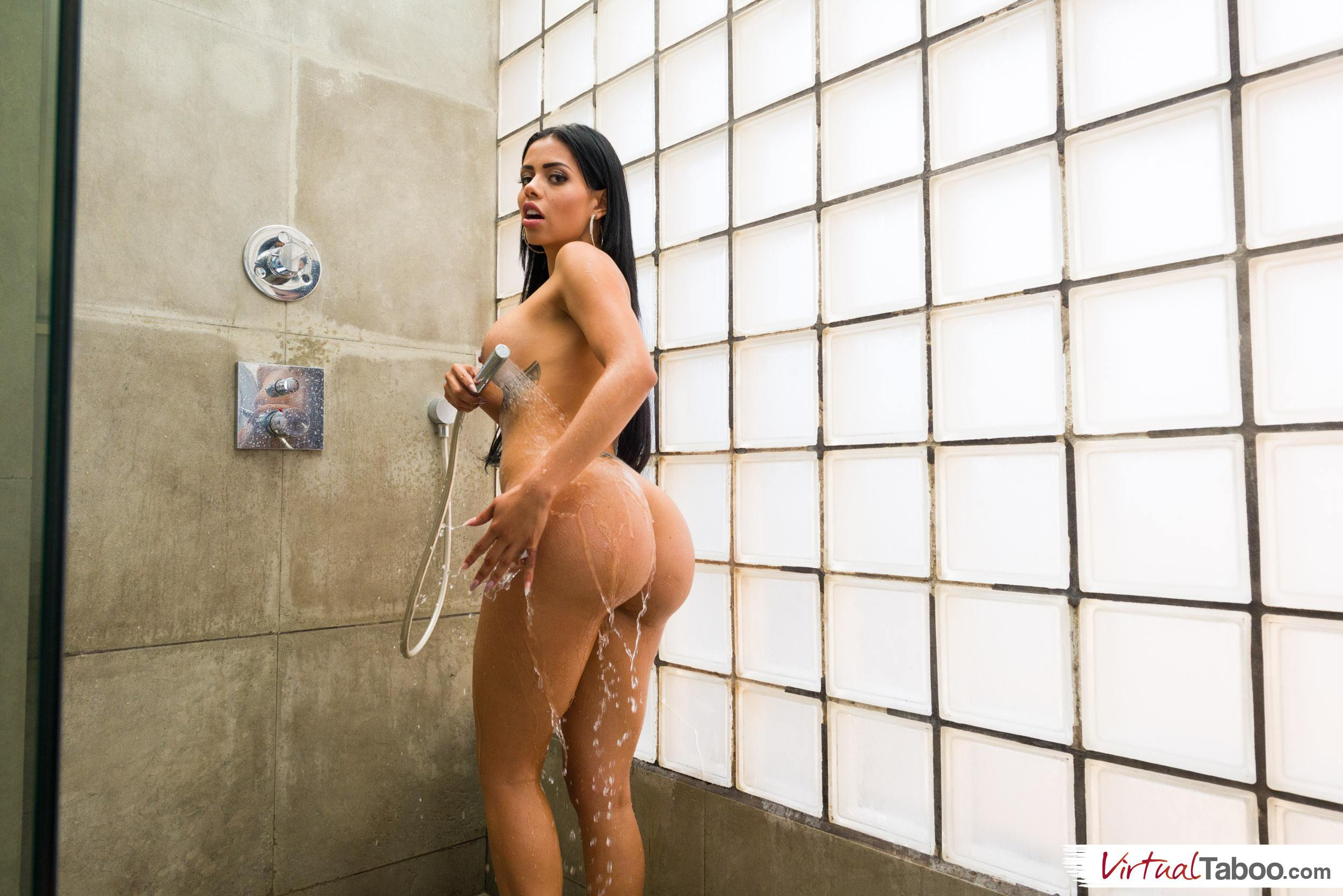 Shower time porn