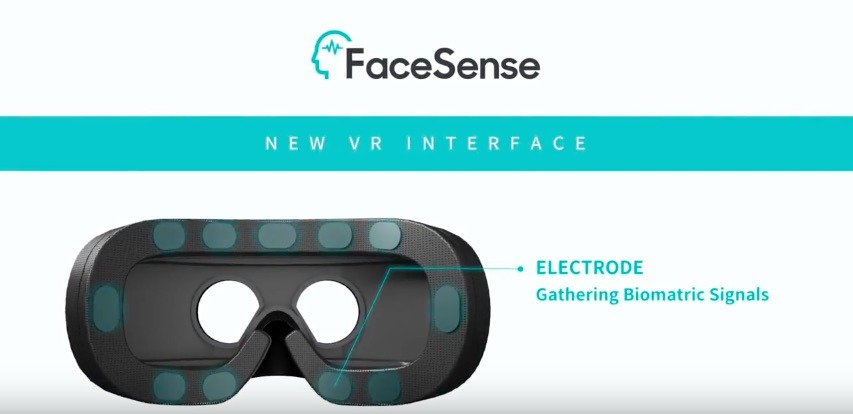 Samsung Pitches FaceSense Concept for Handsfree VR Navigation youtube vr blog virtual reality