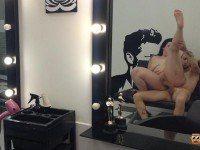 Special Hairdresser New Blowjob Treatment Maria Bose VirtualPorn 360 vr porn video vrporn.com virtual reality