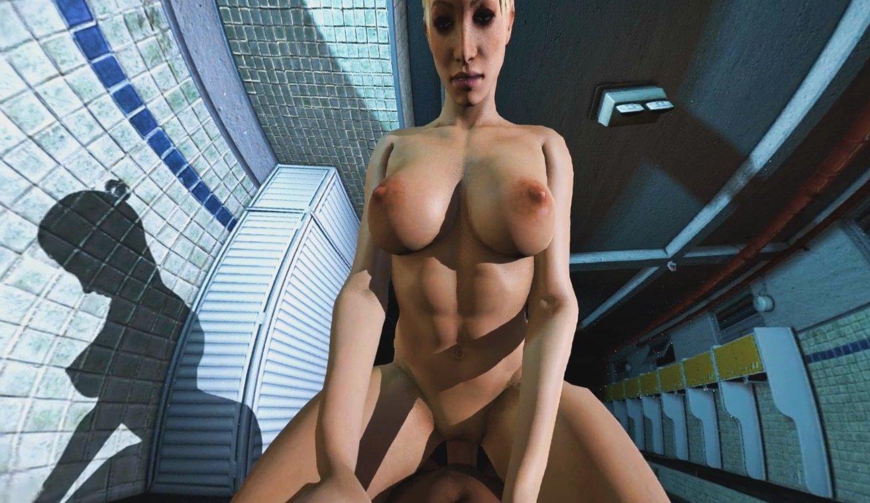 Cgi Girl Porn - ... Cassie Rides You In The Locker Room DarkDreams cgi girl vr porn video  vrporn.com ...