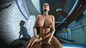 Cassie Rides You In The Locker Room DarkDreams cgi girl vr porn video vrporn.com virtual reality