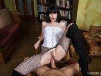 Zatanna A XXX Parody VRCosplayX Alex Harper vr porn video vrporn.com virtual reality