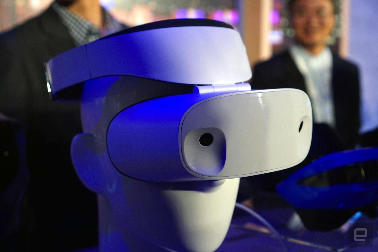 microsoft releases first glimpses of the asus and dell mixed reality headsets dell vr blog virtual reality