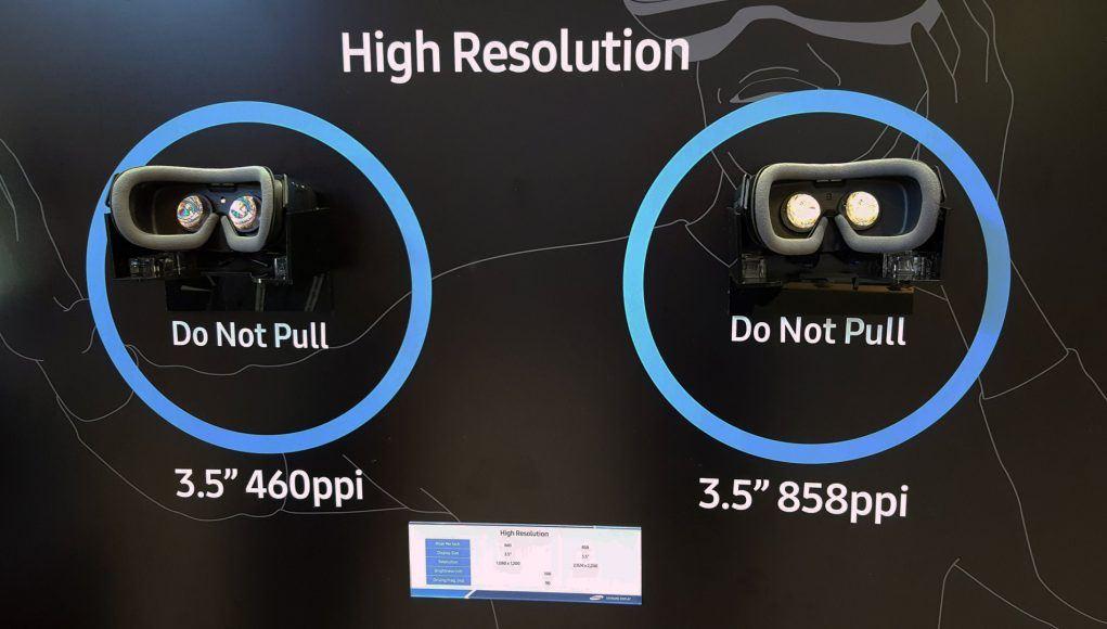Samsung's New VR Display Packs 3.5x More Pixels Over Vive and Rift roadtovr.com vr porn blog virtual reality