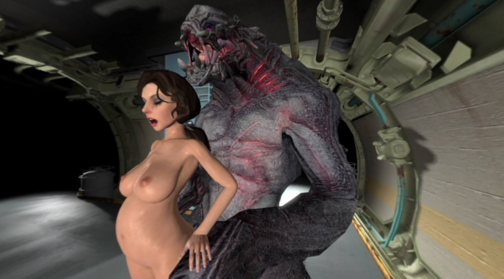 Girl Monster Porn - ... Watch Elizabeth getting fucked by a monster CGI Girl ViceSFM vr porn  video vrporn.com