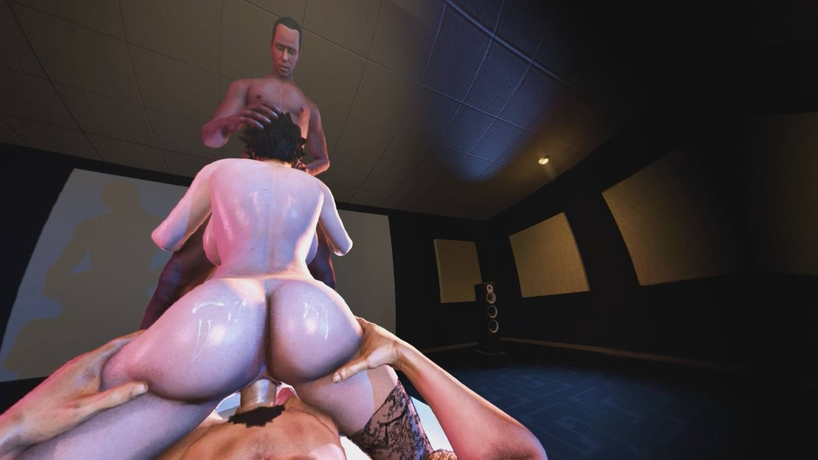 Bayonetta 2 Porn - ... Bayonetta Wanted More Attention Bayonetta DarkDreams vr porn video  vrporn.com virtual reality ...