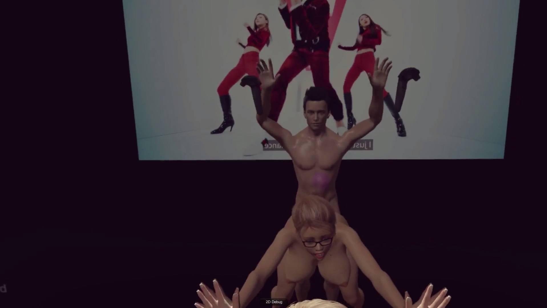 Hardcore Pink  Web Browser Test V003 - Vr Porn Game -4694