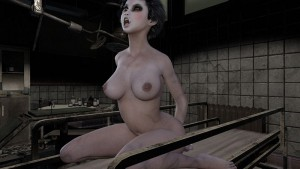 Crazy horror interactive sex experience at SinVR CGI Girl SinVR vr porn game vrporn.com virtual reality