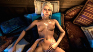 Forgotten Rituals VR – Triss & Ciri Futa CGI Girl DesireSFM vr porn video vrporn.com virtual reality