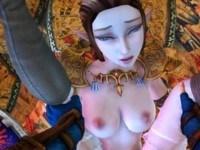 Zelda Finally Rewarded Link With More Than A Heart CGI Girl DarkDreams vr porn video vrporn.com virtual reality