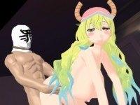 Dragon Maid - Lucoa Love Hotel Doggystyle hentai Girl Lewd FRAGGY vr porn video vrporn.com virtual reality