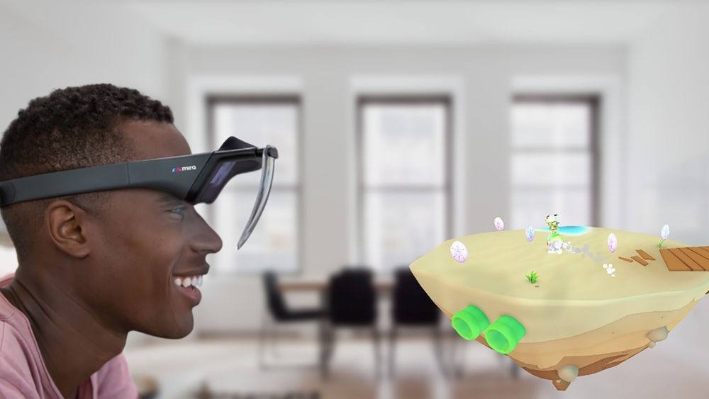 Meet the All New'Mira Prism' iPhone-Based Affordable AR Headset mirareality.com vr blog virtual reality