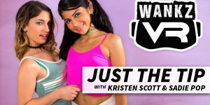 Strokemon GO - Rare and Wild VR Sex Adventure WANKZVR Kristen Scott VR porn video vrporn.com