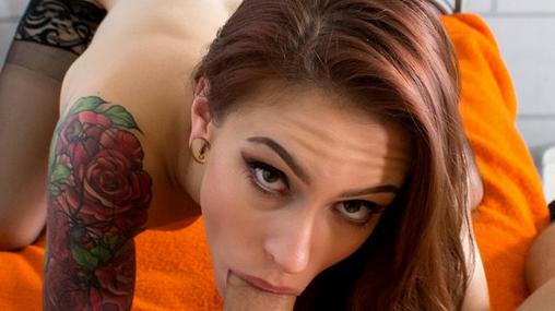Solitary Seduction - Cock Hungry Teen Anna De Ville Porno