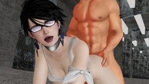 Bayonetta - Doggystyle CGI Girl Lewd FRAGGY vr porn video vrporn.com virtual reality