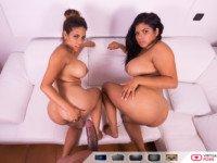 Dangerous Curves VirtualRealPorn Kesha Ortega Sheila Ortega Tony Brooklyn vr porn video vrporn.com virtual reality