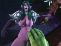 Tyrande's Deception DarkDreams cgi girl vr porn video vrporn.com virtual reality