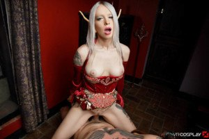 Blood Elf Arteya Needs Your Load! vrcosplayx vr porn blog virtual reality