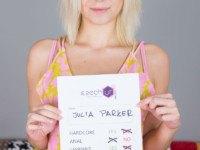 Porn Newbie in VR Casting czechvr Julia-Parker vr porn video vrporn.com virtual reality